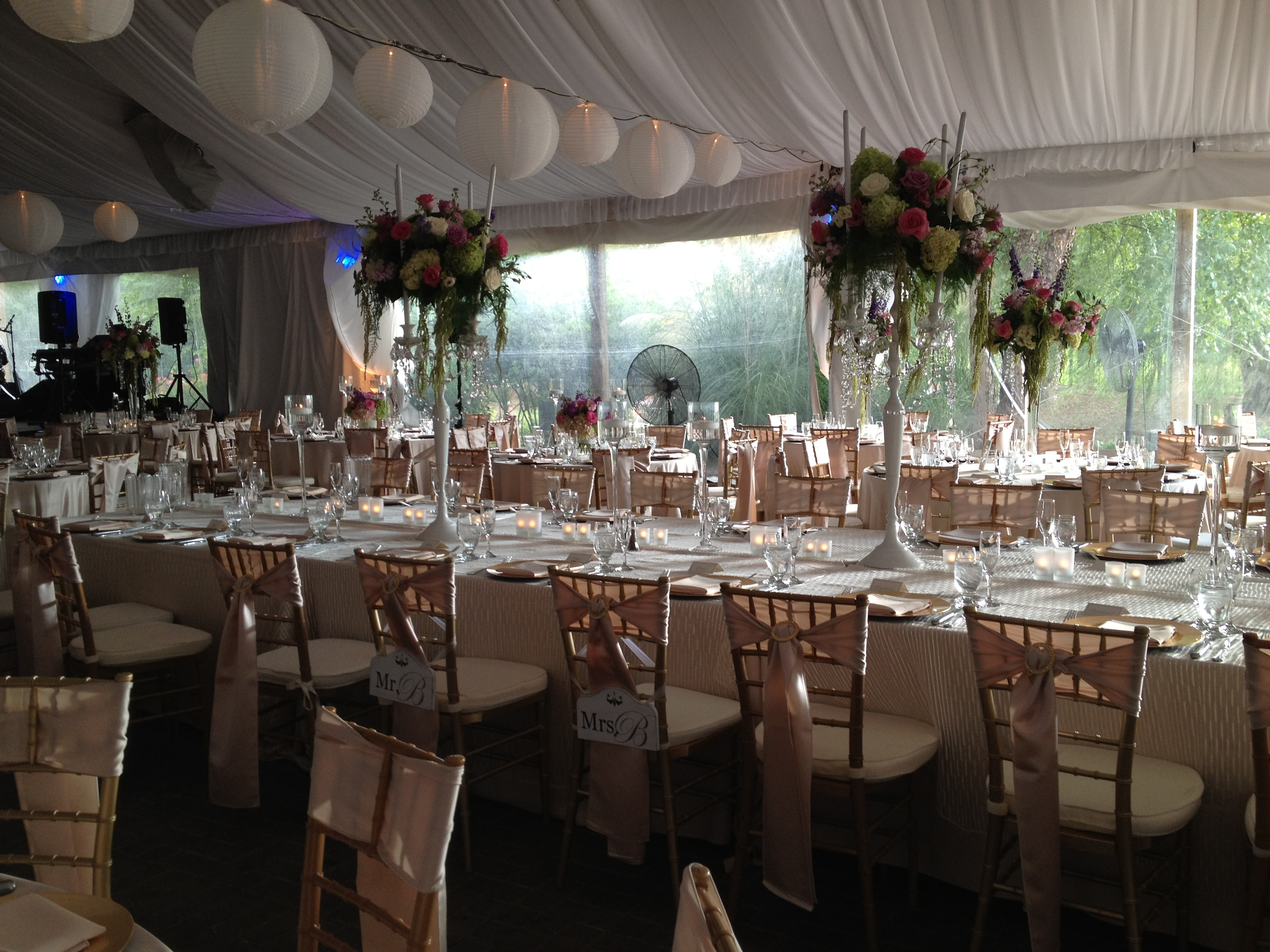 Intimate Family Gathering ~ Garden Tent