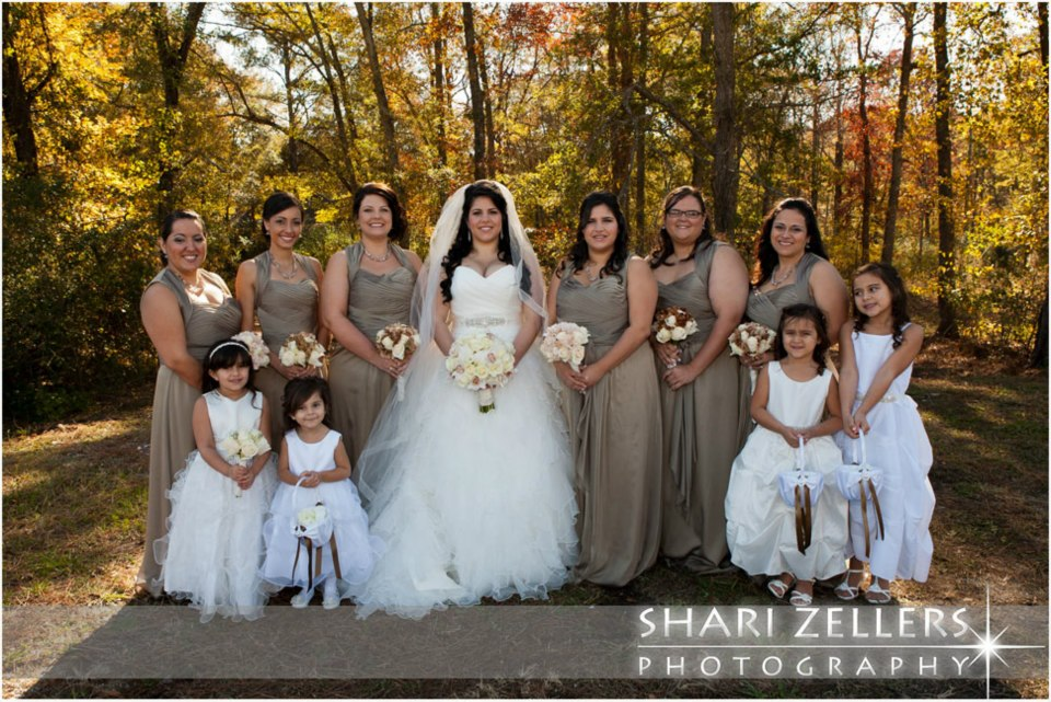 Pictures Of Wedding Party Flowers : Bridal party with flower girls jbevents