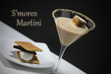 Smores-Martini