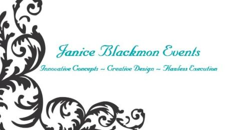 Janice Blackmon Events