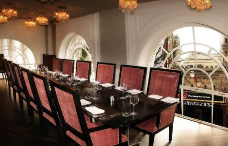 Livingston Private Dining overlooking Fox Theatre g1-p2-full