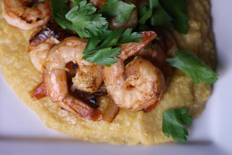 Oscar shrimp and grits