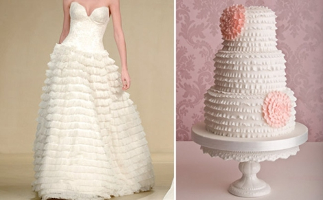 Bridal Wave wedding-cake-inspired-by-wedding-dress-2