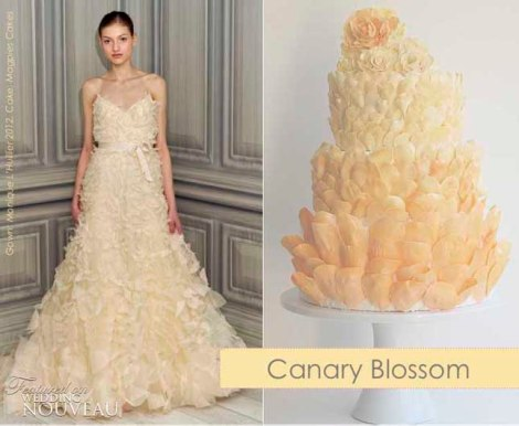 Canary Blossom dress-fashion-inspired-cake-9