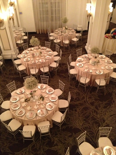 View of guest tables ~ photo taken by JBEvents