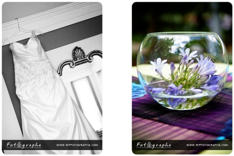 Monet inspired centerpiece by Fotographa