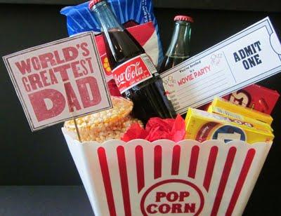 popcorn gift bucket