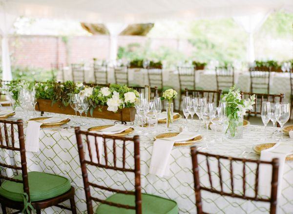 St. Patricks Day green-and-ivory-wedding