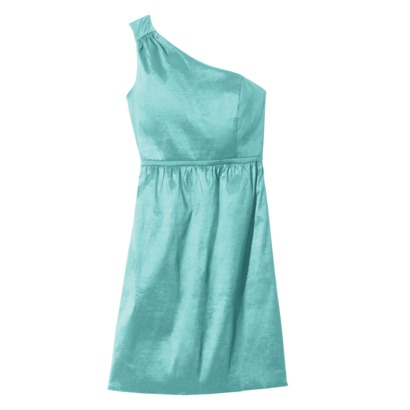 One Shoulder Shantung Dress from Target