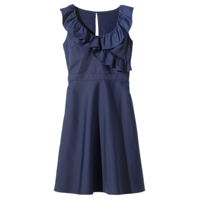 Crossover Ruffled neck dress from Target