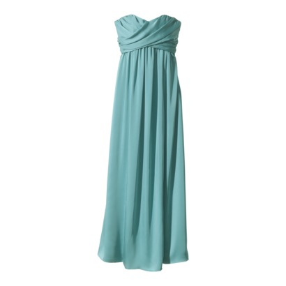 Strapless Chiffon Long Dress ~ Target