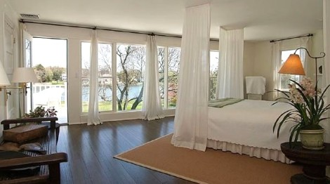 Master Bedroom view 2 with water view