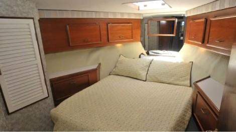 Yacht bedroom
