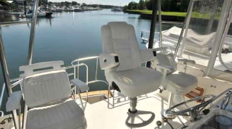 Yacht captains chair