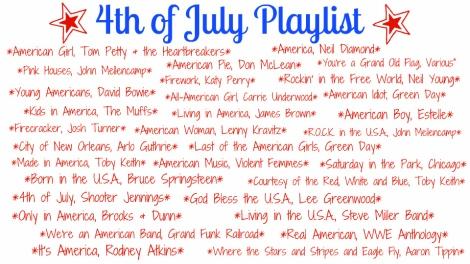4th of July Playlist