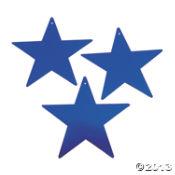 Blue Twinkling Stars ~ Oriental Trading