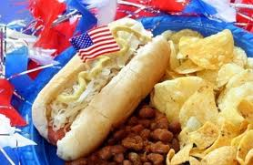Hot Dogs and chips