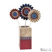 Vintage Patriotic Pinwheels ~ Oriental Trading