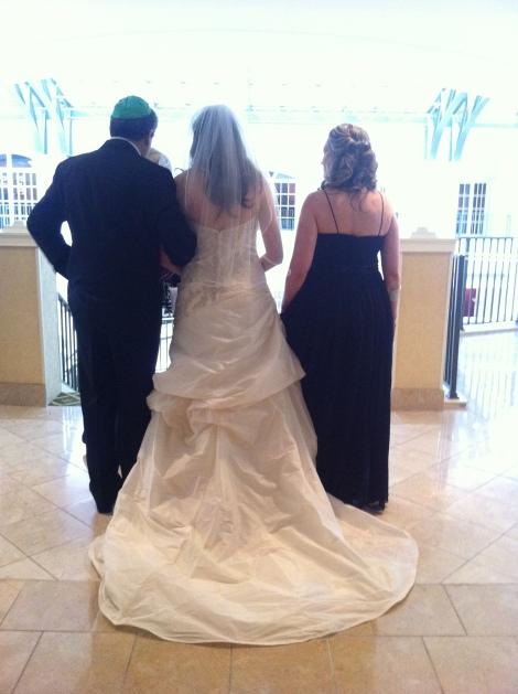 Brides procession