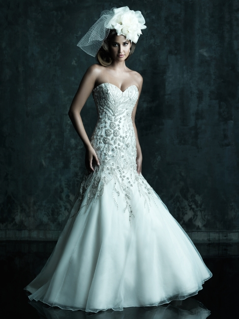 Allure Bridals, Style C241 Available at Treasures Formals and Bridal