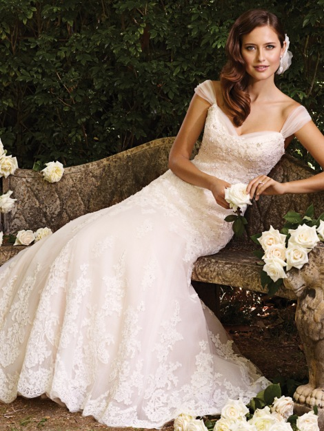 Sophia Tolli, Design Y21380 Available at Treasures Formal and Bridal