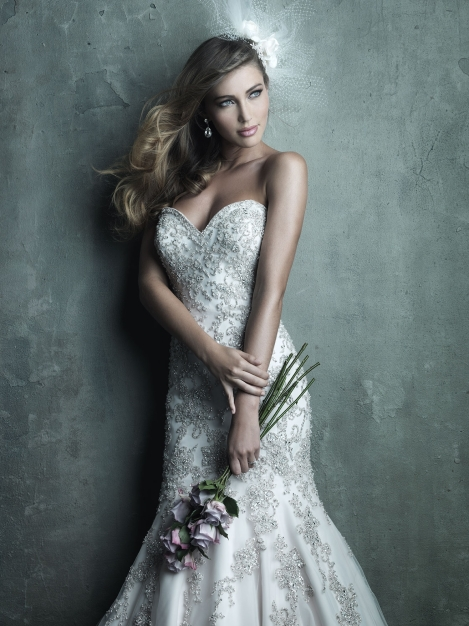 Allure Bridals, Style C283 Available at Treasures Formal and Bridal
