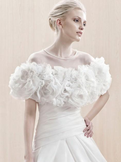 Enzoani, Edlington Jacket Availability at LaRaines Bridal Boutique