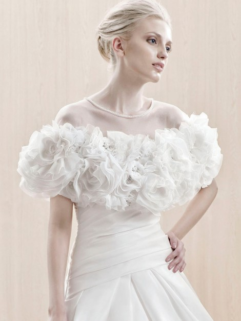 Enzoani, Edlington Jacket Availability at LaRaines Bridal Boutique