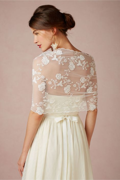 Nicolette Wrap Available from BHLDN