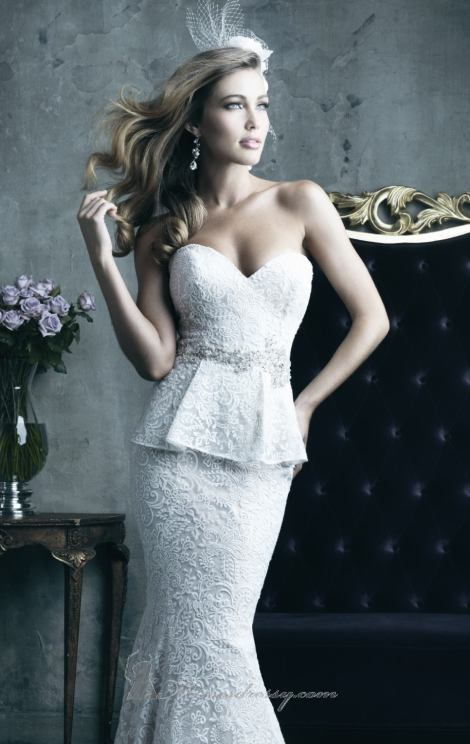 Allure Bridals, Style C282 Available at Treasures Formals and Bridal