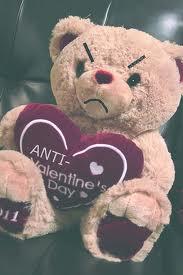 anti valentines day bear