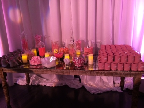 Candy buffet at Pink Party 022714