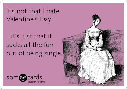 ecard hate valentines day