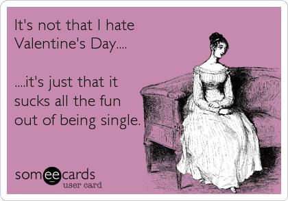 ecard hate valentines day