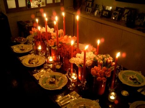 herbivore kitchen elegant table setting