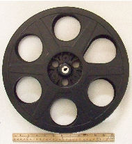 hollywood_movie_reels_black.use for table or wall decor