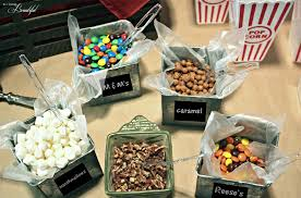 popcorn treat bag toppings