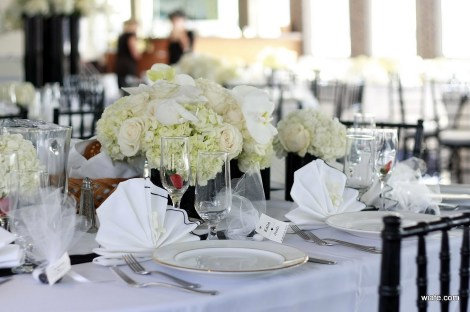 The Atlantis Wedding Table Centerpieces 3