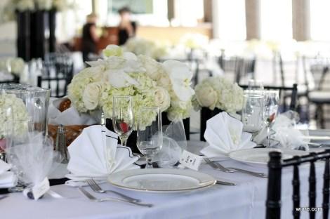 The Atlantis Wedding Table Centerpieces 3