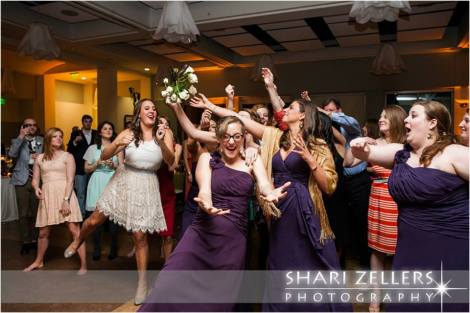Bouquet Toss ~ Shari
