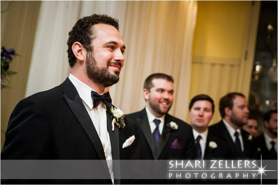 Brandon at alter ~ Shari