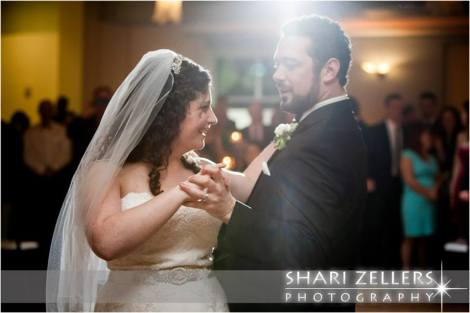 Bride and Groom dancing ~ Shari