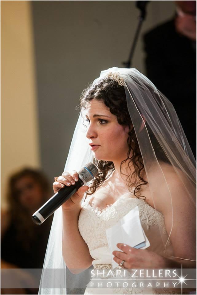 Brides speech ~ Shari