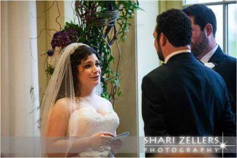 Brides vows ~ Shari