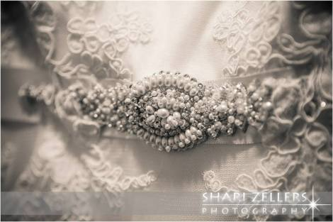 Dress detail by Shari