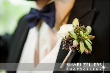 Grooms bout by EventScapes ~ Shari