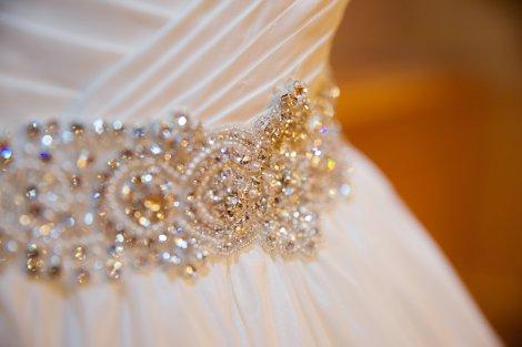 Detail on dress