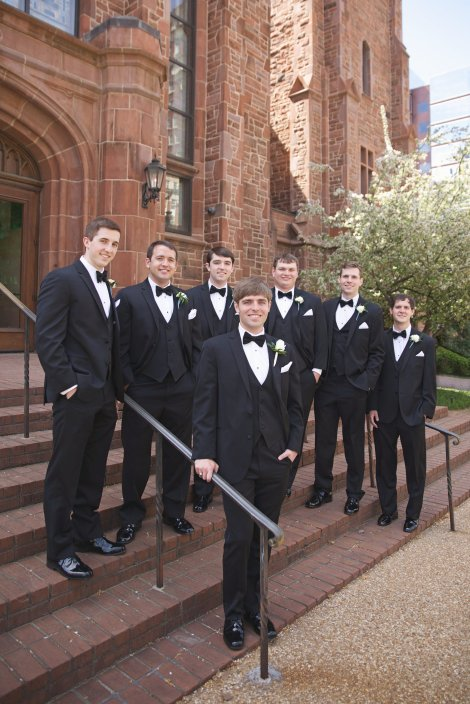 The guys at the church