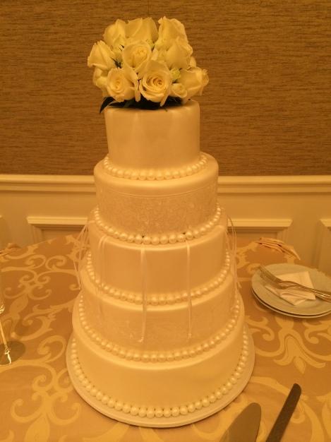 Wedding cake by Four Seasons