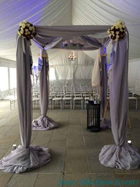 Chuppah designed by EventScapes